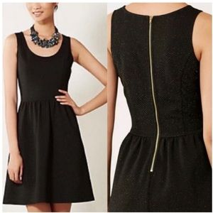 Anthro HD In Paris Starry Night Black Party Dress